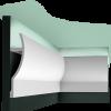 C372 скрытое освещение Orac Decor